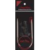 "ChiaoGoo SS Knit RED Circulars - 16"" (40 cm)"
