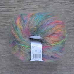 Rico Essentials Mohair - 009 Multi Turquoise