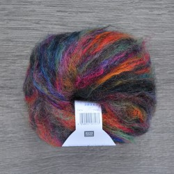 Rico Essentials Mohair - 010 Multi Fuchsia