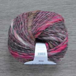 Rico Fashion Flame - 007 Grey-Fuchsia