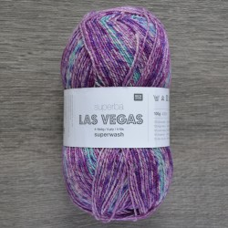 Rico Sock Superba Las Vegas - 004 Purple Mix
