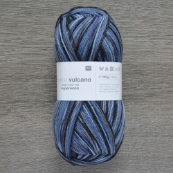 Rico Sock Superba Vulcano - 003 Blue-Grey