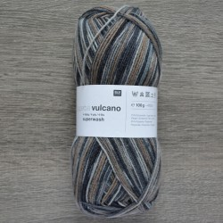 Rico Sock Superba Vulcano - 006 Grey Mix