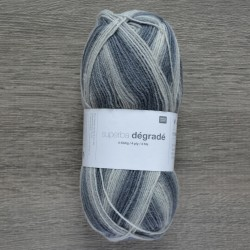 Rico Sock Superba Dégradé - 007 Grey Mix