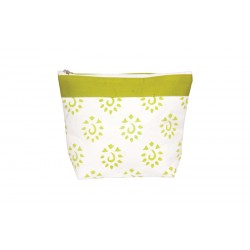 KnitPro Amber Big Zipper Pouch - Neon Green