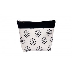 KnitPro Amber Big Zipper Pouch - Black