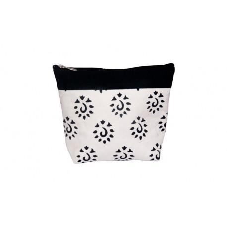 KnitPro Amber Big Zipper Pouch - Black