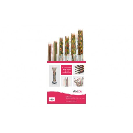 KnitPro Symfonie Wood DPN Set (20 cm)