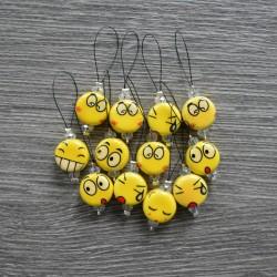 KnitPro ZOONI Smileys Stitch Markers