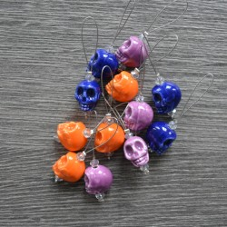 KnitPro ZOONI Skull Stitch Markers