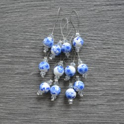 KnitPro ZOONI Blooming Blue Stitch Markers