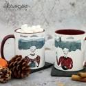 Scheepjes Limited Edition mug by Aleksandra Sobol