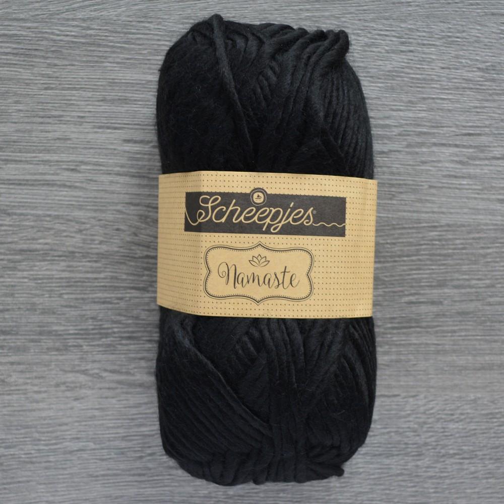 Scheepjes Namaste Black Soft and Chunky Yarn 602 Eagle