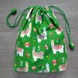 Project bag Green Alpaca