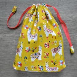Project bag Mustard Alpaca