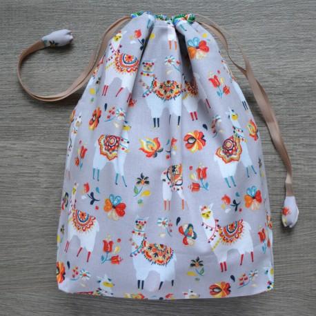 Project bag Grey Alpaca
