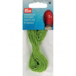 Prym Espadrilles Creative yarn, green