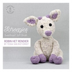Scheepjes Crochet pattern Robin the Reindeer