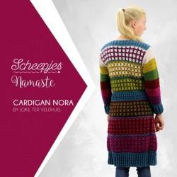 Scheepjes Crochet pattern cardigan Nora