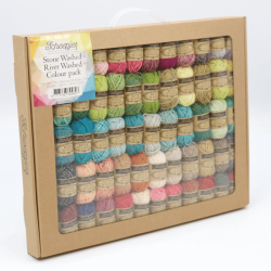 Scheepjes Stone Washed River Washed Colour Pack 58x10g